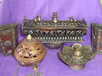 Incenses, Burners and Holders